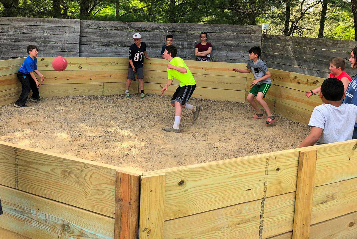 fun in the gaga ball pit 2